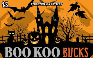 BOO KOO BUCKS (PA)- How to play (game rules) - Example of winning - Video