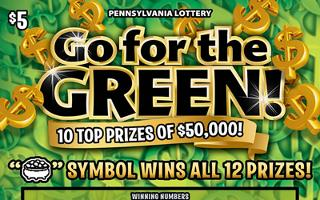 GO FOR THE GREEN (PA LOTTERY)- How to play (game rules) - Example of winning - Video