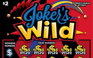JOKER'S WILD (PA LOTTERY)- How to play (game rules) - Example of winning - Video