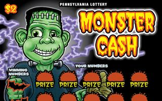 MONSTER CASH (PA)- How to play (game rules) - Example of winning - Video