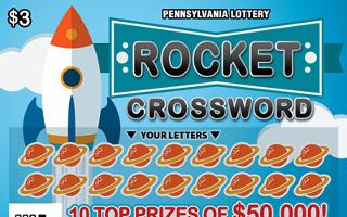 ROCKET CROSSWORD (PA)- How to play (game rules) - Example of winning - Video