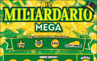 IL MILIARDARIO MEGA (nuova grafica) GRATTA E VINCI