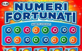 NUMERI FORTUNATI - Come giocare (regole del gioco) - Esempio di vincita - Video