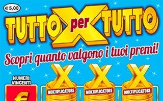 TUTTO PER TUTTO (TUTTO X TUTTO) - Come giocare (regole del gioco) - Esempio di vincita - Video