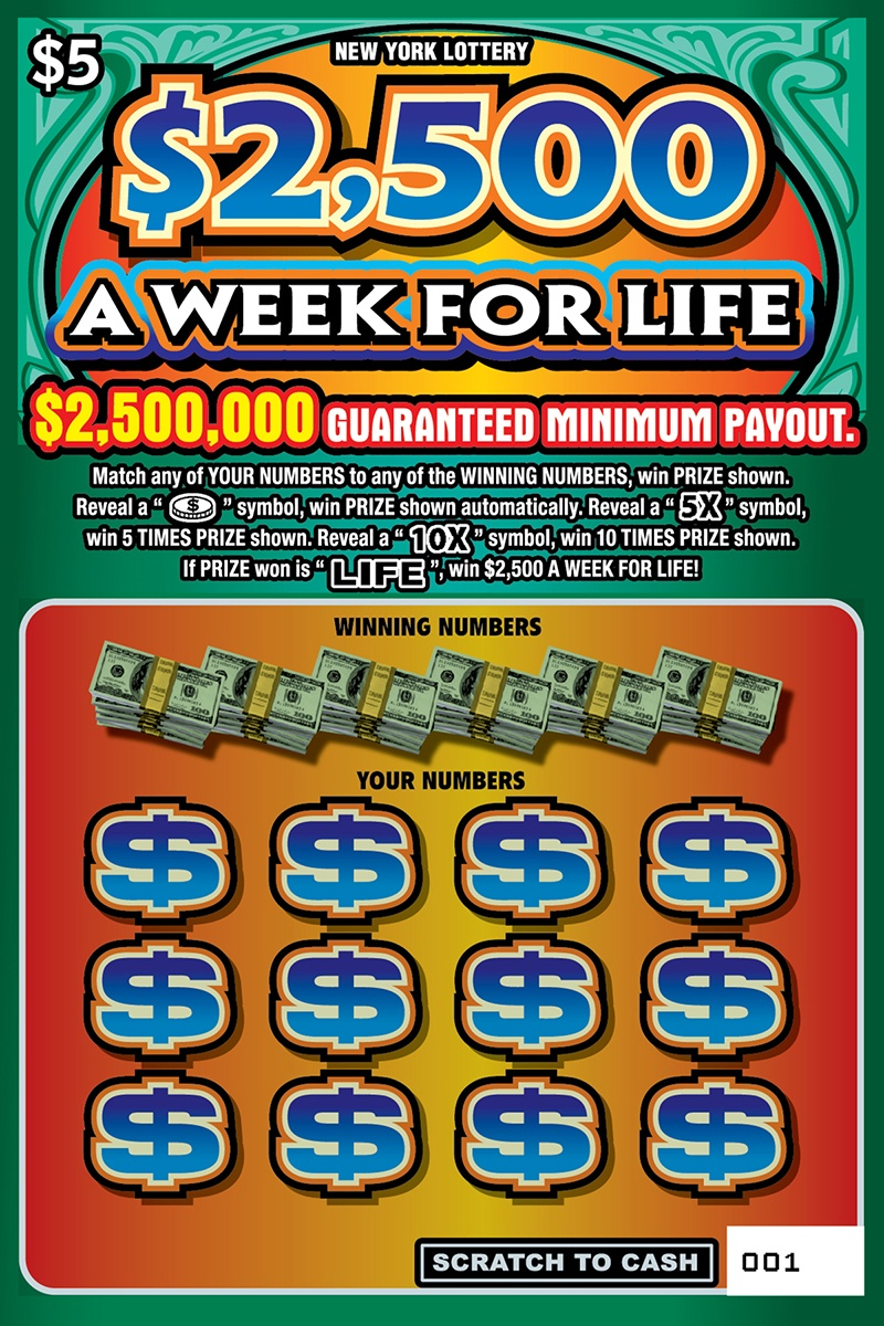 2 500 A Week For Life Ny Lottery How To Play Game Rules Example Of Winning Video